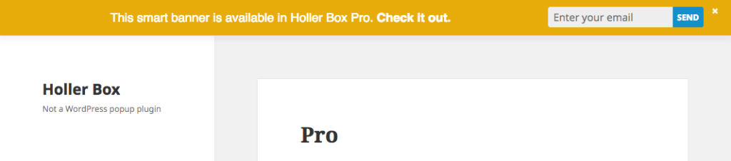 7 ways to use discounts without hurting your brand holler box holler box even lets you deactivate the banner automatically when the sale ends fandeluxe Gallery