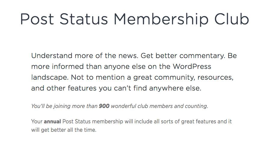 Post Status Club