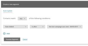 MailChimp Segments