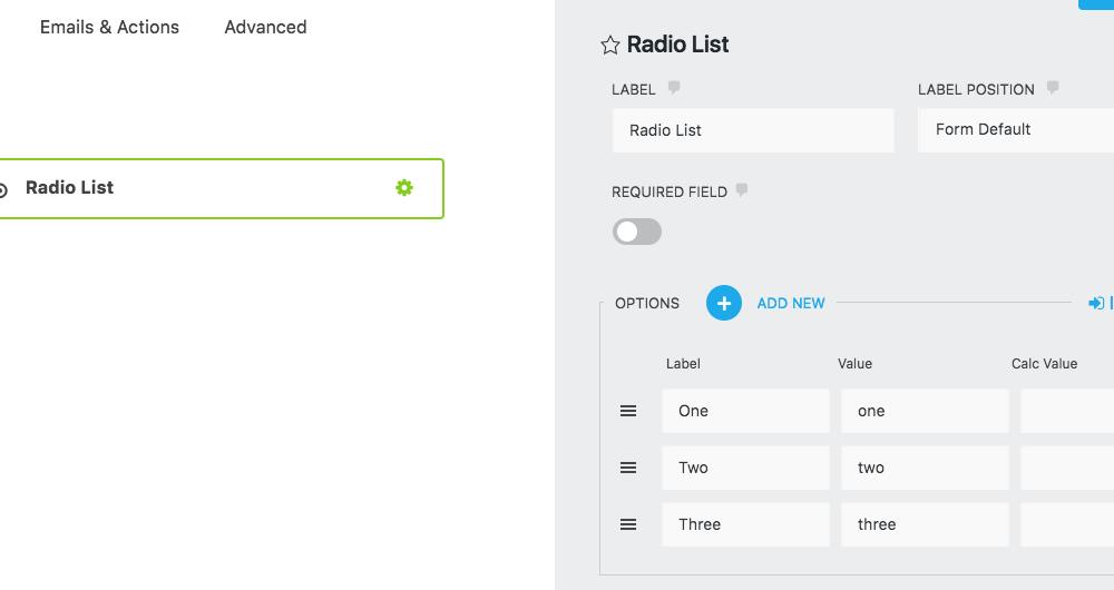 Radio List